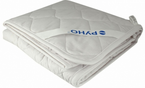 Одеяло детское хлопковое стеганое ТМ Руно белое