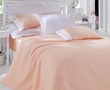 Постельное бельё с покрывалом ТМ Cotton Box сатин Somon евро-размер