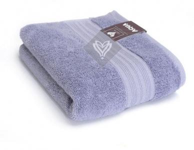 Полотенце махровое ТМ Идея Aqua Fiber лиловое