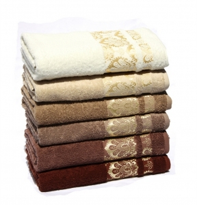 Набор полотенец из 6 шт ТМ IzziHome P. Sirma Soft
