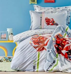 Подростковое постельное белье ТМ Karaca Home Racing Team