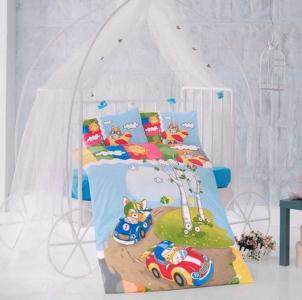 Детский постельный комплект ТМ Clasy Race Time