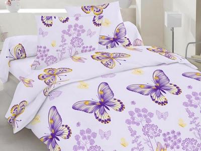 Постельное белье ТМ Novita бязь 40-0604 violet