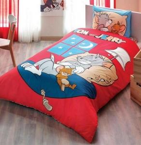 Подростковый постельный комплект ТМ TAС Tom and Jerry Good Night