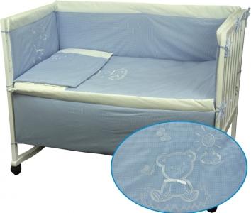 Детский постельный комплект ТМ Руно Медвежонок голубой