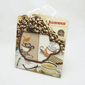 Набор полотенец кухонных ТМ Juanna Coffee 2шт 50х70см