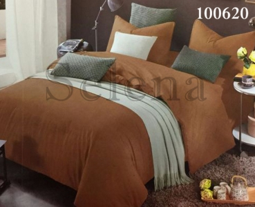 Постельное белье ТМ Selena бязь Шоколадный 100620