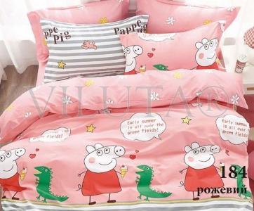 Постельное бельё ТМ Вилюта сатин-твил детский 184 розовый