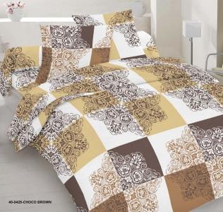 Постельное белье ТМ Nostra сатин 40-0425 Choco Brown