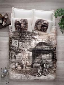 Постельное бельё ТМ Cotton Box Art Series сатин Cesme евро-размер