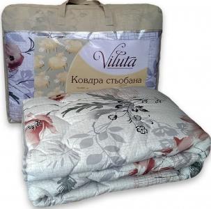 Одеяло шерстяное ТМ Вилюта в ассортименте серое