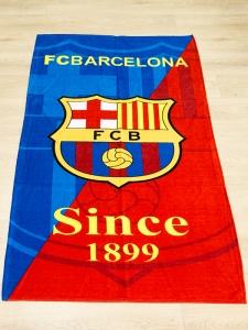 Полотенце велюровое пляжное Турция Barcelona 75х150 см