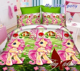 Подростковый постельный комплект ТМ TAG My little pony