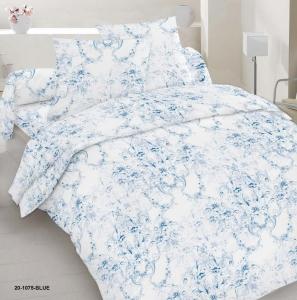 Постельное белье ТМ Nostra сатин 20-1075 Blue