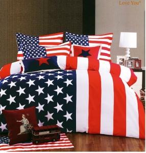 Постельное бельё ТМ Love You Америка евро-размер