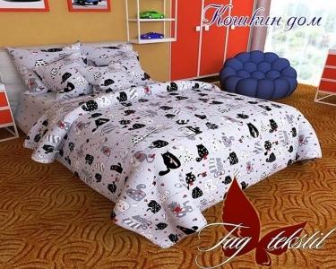 Подростковый постельный комплект ТМ TAG Кошкин дом