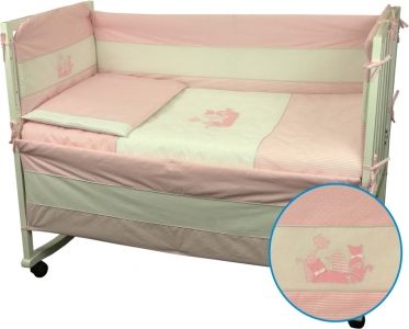 Детский постельный комплект ТМ Руно Котята розовый