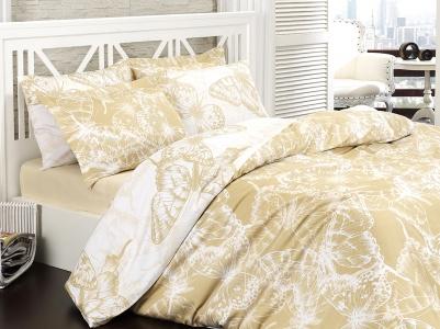 Постельное бельё ТМ Mariposa сатин люкс esila gold семейный размер