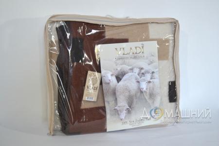 Одеяло шерстяное жаккардовое ТМ Vladi Тетрис