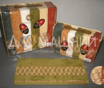 Набор полотенец из хлопка ТМ Philippus Cotton Bergama