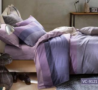 Постельное белье сатин ТМ Bella Villa B-0113 евро-размер