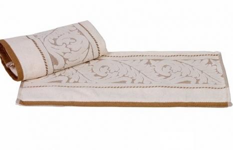 Полотенце махровое ТМ Hobby Sultan кремовое