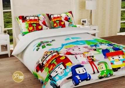 Подростковое постельное белье ТМ Лелека Текстиль ранфорс R188