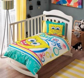 Детский постельный комплект ТМ TAС Sponge Bob Bubble Baby
