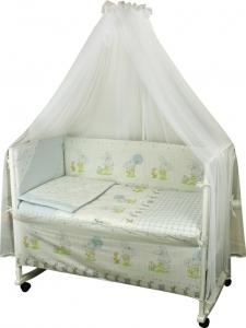 Детский постельный комплект ТМ Руно Зайка на прогулке