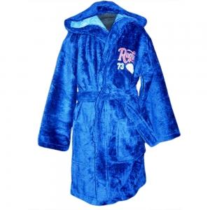 Халат детский синий ТМ Nusa Регби 7-8 лет