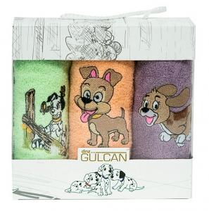Набор полотенец кухонных 3шт ТМ Gulcan Dogs 03 30х50