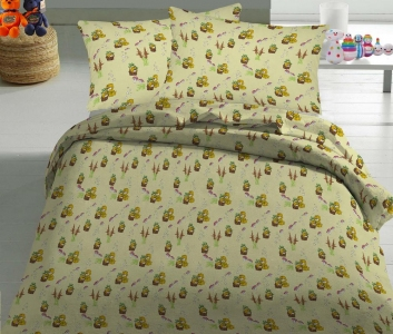 Детский постельный комплект ТМ Nostra бязь Gold 10-0117 Beige