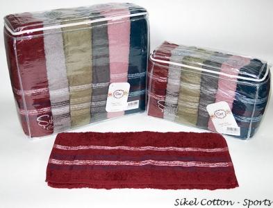 Набор полотенец из 6 штук ТМ Sikel Cotton Sports