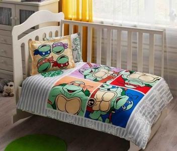 Детский постельный комплект ТМ TAС Ninja Turtles Baby