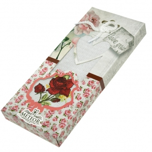Набор полотенец кухонных ТМ Nilteks Розы 40х60см