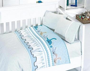 Детский постельный комплект ТМ First Сhoice Ginny Mavi