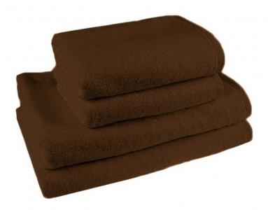 Простынь махровая ТМ Novita гладкокрашенная brown
