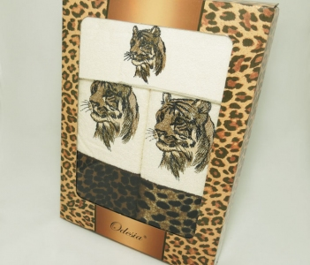 Набор полотенец из хлопка Vevien Tiger