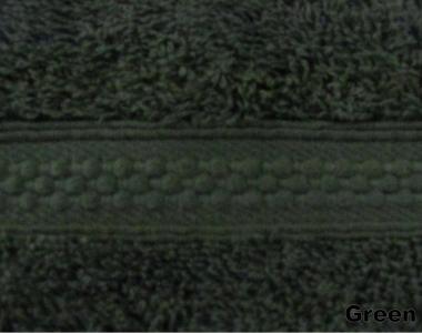 Полотенце махровое ТМ Arya Miranda зеленое