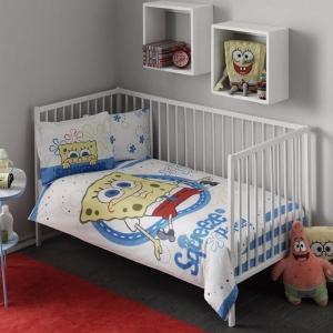 Детский постельный комплект ТМ TAС Sponge Bob Baby
