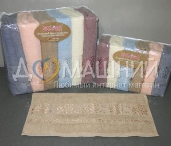Набор полотенец из хлопка TМ Havloom Cotton Sarmasik