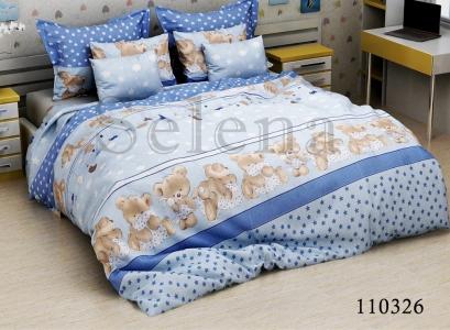 Подростковое постельное белье ТМ Selena бязь Соня blue 110326
