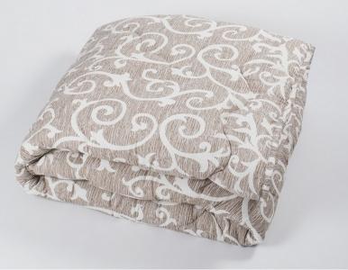 Одеяло демисезонное ТМ Lotus Colour fiber Jaco кофе