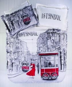Постельное бельё ТМ Karaca Home ранфорс Beyoglu полуторное