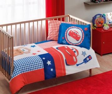 Детский постельный комплект ТМ TAС Cars Patchwork Baby