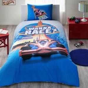 Подростковый постельный комплект ТМ TAС Hot Wheels Race