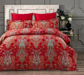 Постельное белье ТМ Arya сатин Fashionable Serenada евро-размер