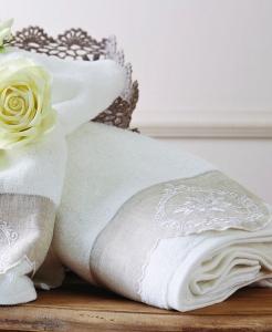 Набор махровых полотенец из 2шт ТМ Karaca Home Roundel