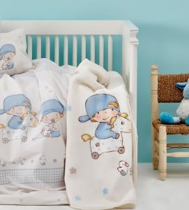 Постельное бельё ТМ Karaca Home детский Baby Boy