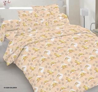 Детский постельный комплект ТМ Nostra бязь Gold 10-0260 Salmon